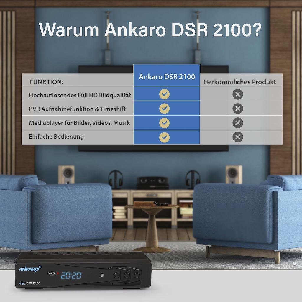 Ankaro SAT-Receiver »ANK DSR 2100 Full HD«, PVR Ready