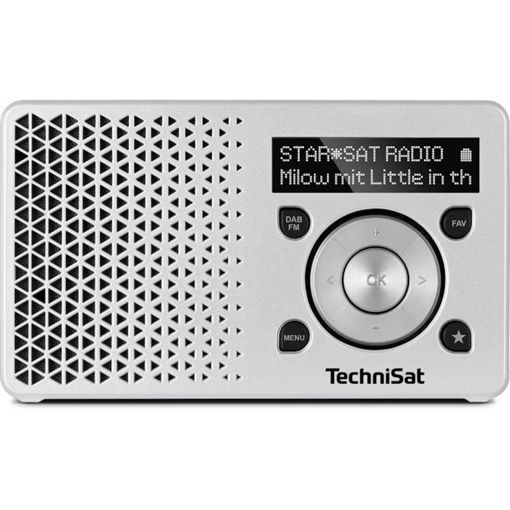TechniSat Digitalradio (DAB+) »DIGITRADIO 1«, (Digitalradio (DAB+) 1 W), Made in Germany
