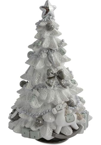 RIFFELMACHER & WEINBERGER Spieluhr »Weihnachtsbaum«, mit Melodie, drehend, Höhe ca. 20 cm kaufen