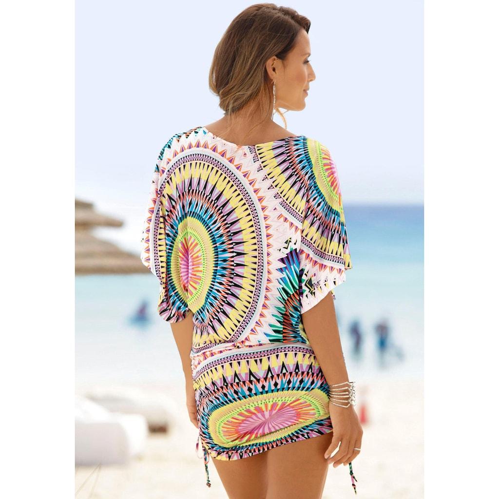 Beachtime Longshirt, mit grafischem Druck