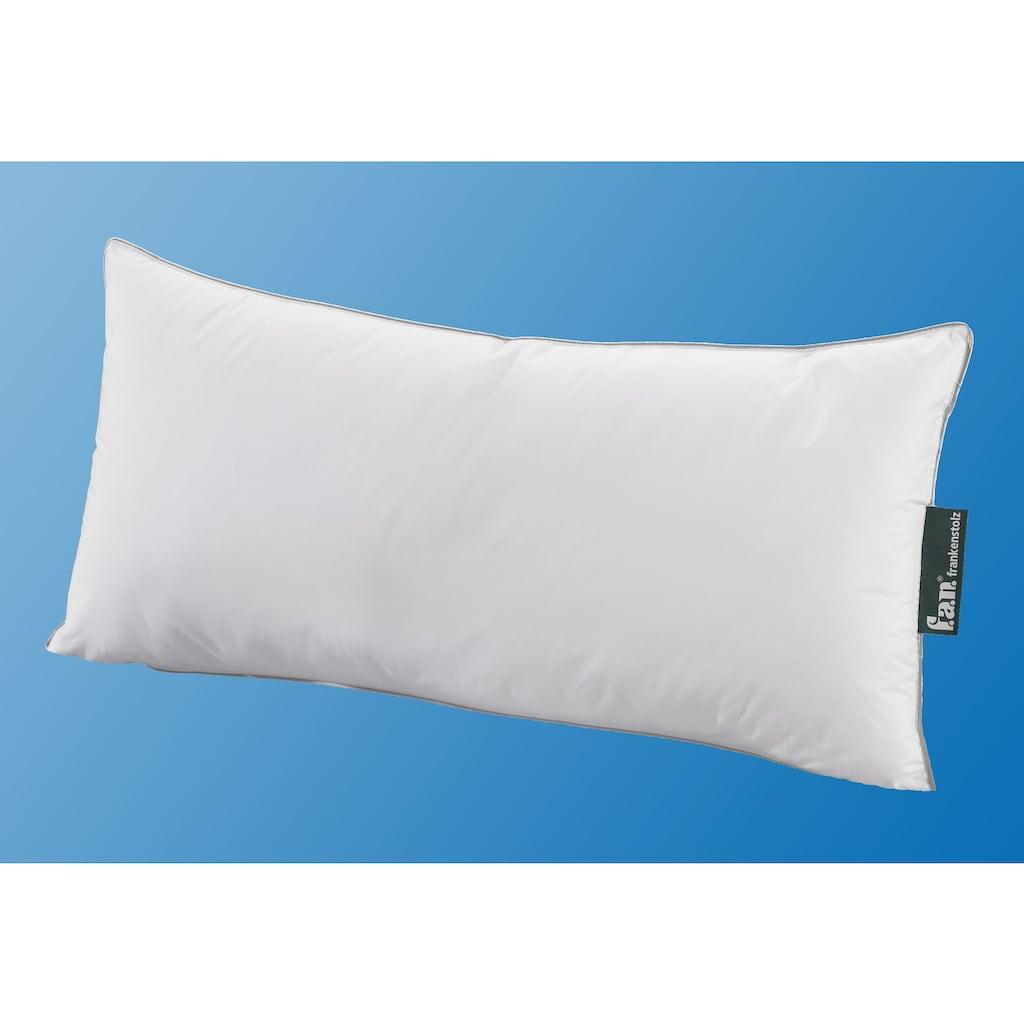 fan Schlafkomfort Exklusiv Kopfkissen »DACRON® Suprelle Memory«, (1 St.), optimal druckentlastend und federweich