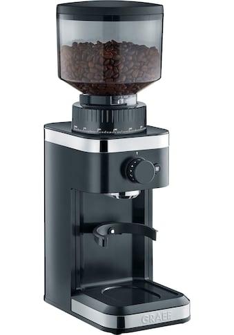 Graef Kaffeemühle CM 502, schwarz, Kegelmahlwerk kaufen