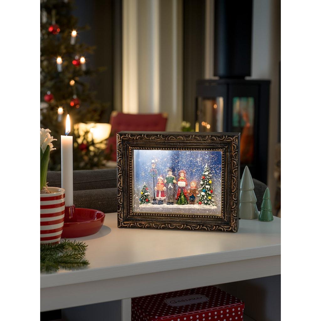 KONSTSMIDE LED Bilderrahmen mit Weihnachtschor