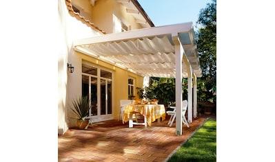 Floracord Sonnensegel »Bausatz Universal«, BxT: 330x140 cm, elfenbein kaufen