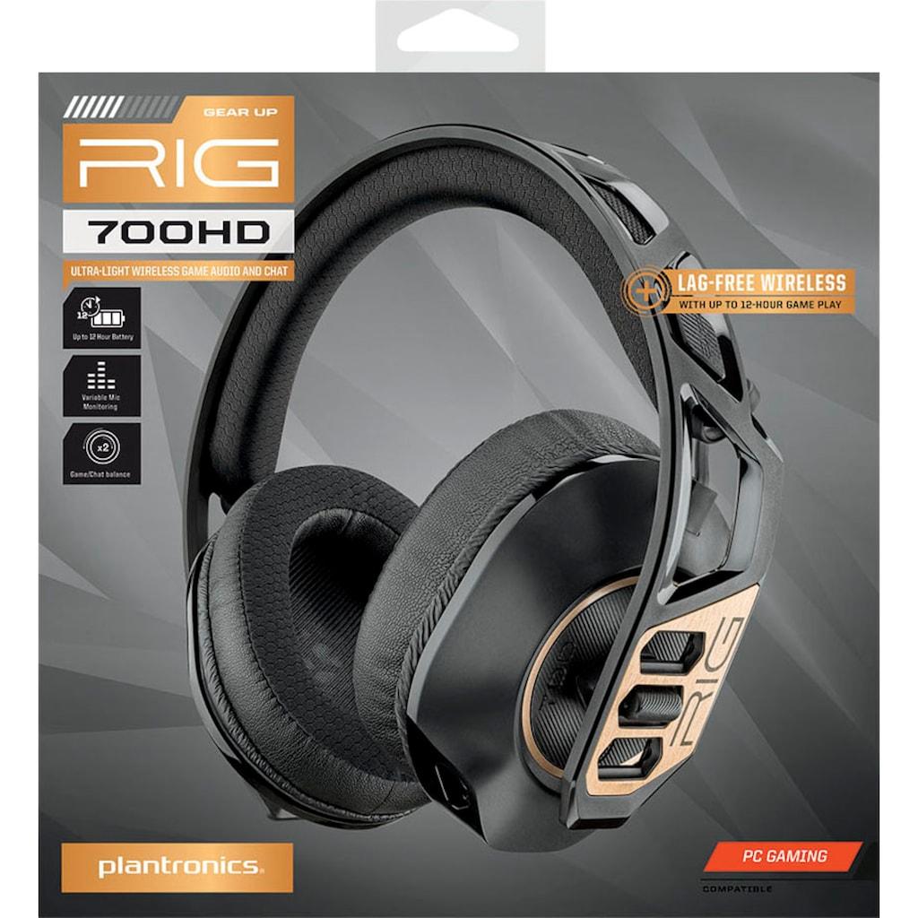 nacon Gaming-Headset »RIG 700HD«, Noise-Cancelling-Mikrofon abnehmbar, kabellos-Noise Cancelling