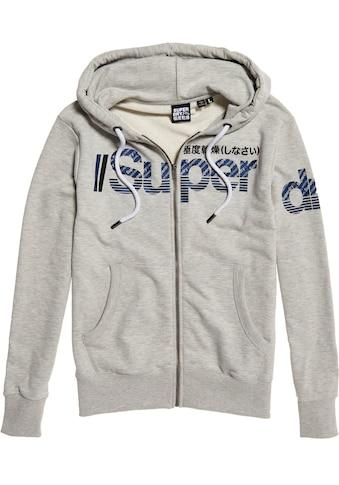 Superdry Kapuzensweatjacke »Core Split Logo« kaufen