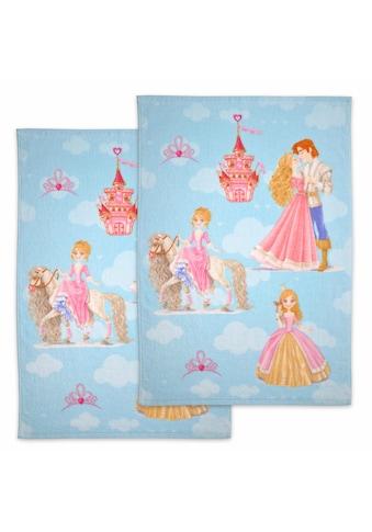 Dyckhoff Handtücher »Prinzessin«, (2 St.), mit Prinz und Prinzessin kaufen