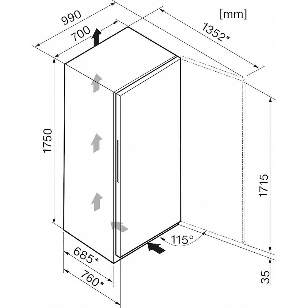 Miele Gefrierschrank »FN 27273 ws«, 175 cm hoch, 70 cm breit