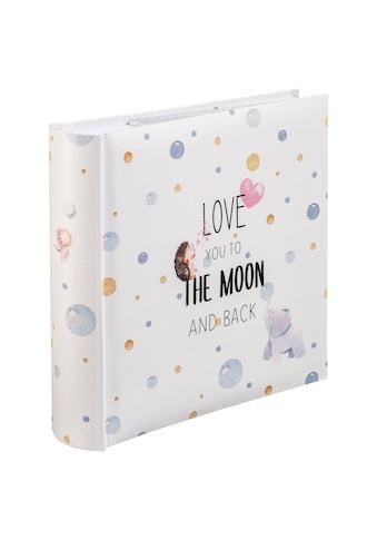 """Hama Fotoalbum »Einsteck - Foto Album«, """"To The Moon"""", für 200 Fotos im Format 10x15 kaufen"""