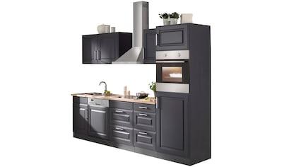 HELD MÖBEL Küchenzeile »Stockholm«, mit E-Geräten, Breite 280 cm, mit hochwertigen MDF... kaufen