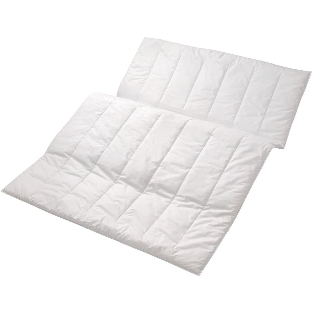 Centa-Star Kunstfaserbettdecke »Aqua Aktiv«, normal, Bezug 100% Baumwolle, (1 St.), besonders atmungsaktiv und feuchtigkeitsregulierend