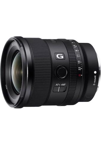 Sony »SEL20F18G« Weitwinkelobjektiv kaufen