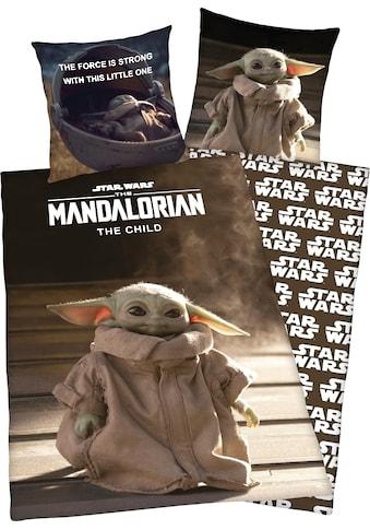 """Star Wars Wendebettwäsche »Star Wars Mandalorian«, mit tollem """"Star Wars Mandalorian""""... kaufen"""