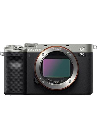 Sony Vollformat-Digitalkamera »ILCE-7CS - Alpha 7C E-Mount«, 4K Video, 7,5cm (3 Zoll)... kaufen