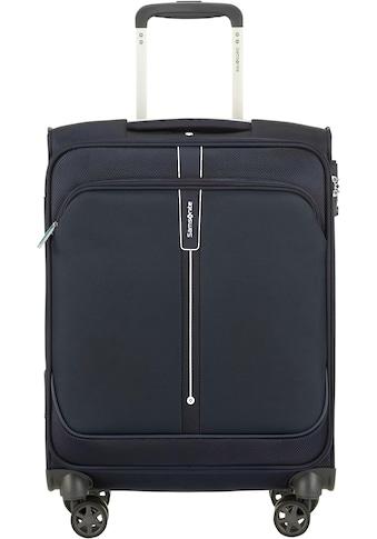 Samsonite Weichgepäck-Trolley »Popsoda, 55 cm, dark blue«, 4 Rollen kaufen