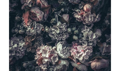 CONSALNET Papiertapete »Blumen Vintage Muster«, in verschiedenen Größen kaufen
