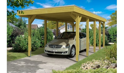 Skanholz Einzelcarport »Friesland«, Holz, 270 cm, grün kaufen