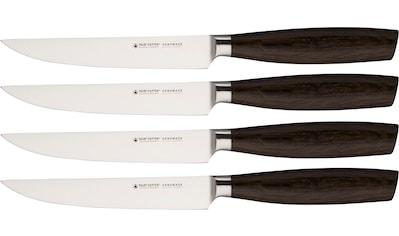 Felix Solingen Steakmesser, (Set, 4 tlg.), Chrom-Molybdän-Vanadium-Stahl, Griff aus... kaufen