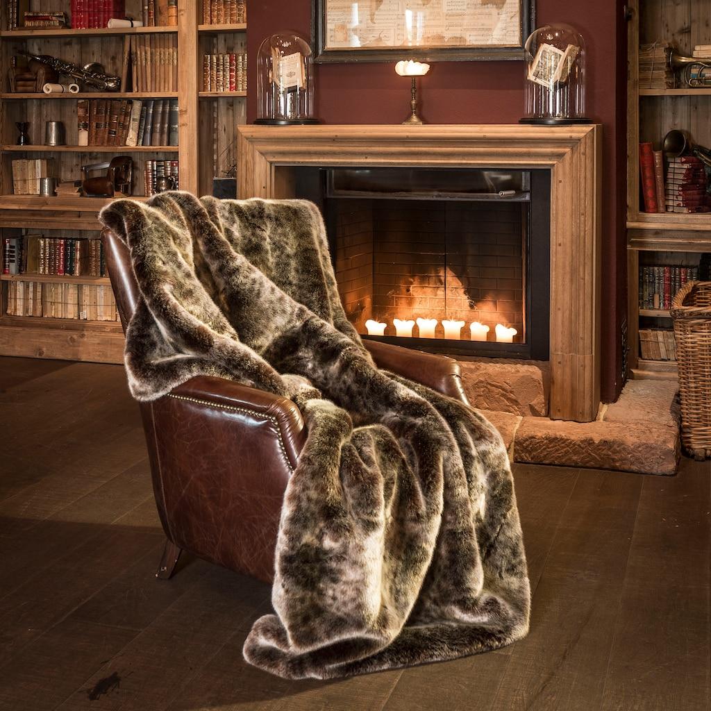 Star Home Textil Wohndecke »Luchs«, besonders weich, hochwertig