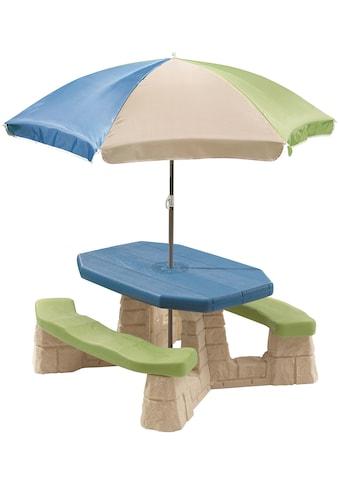 Step2 Kindersitzgruppe, Picknicktisch, BxTxH: 109x103x183 cm kaufen