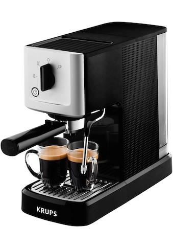 Krups Espressomaschine »Calvi Steam & Pump XP3440«, Edelstahl, 1 L Wassertank, Sehr... kaufen
