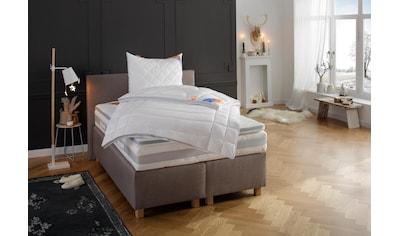 fan Schlafkomfort Exklusiv Taschenfederkernmatratze »Mabona T«, 544 Federn, (1 St.), Bekannt aus der TV-Werbung, mit Sommer- und Winterseite! kaufen