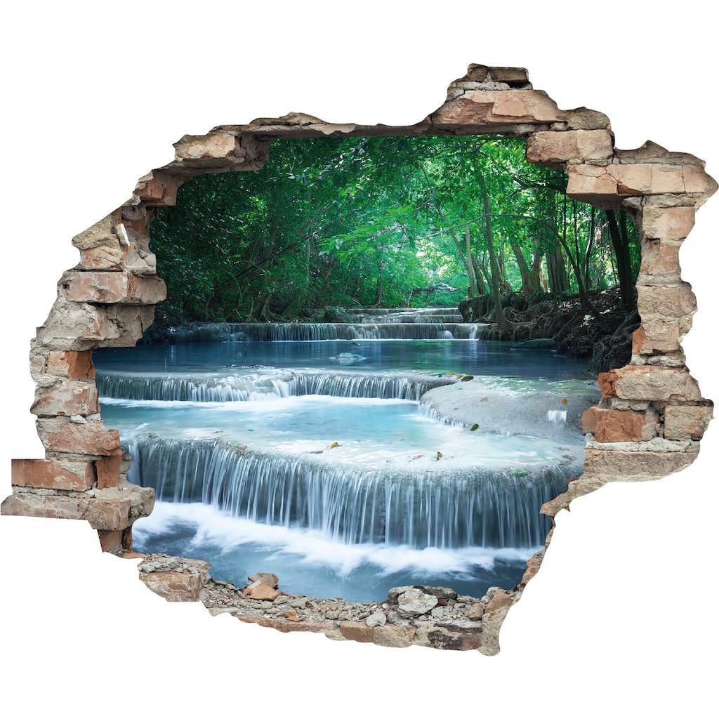 queence Wandtattoo »Fluss« (1 Stück)