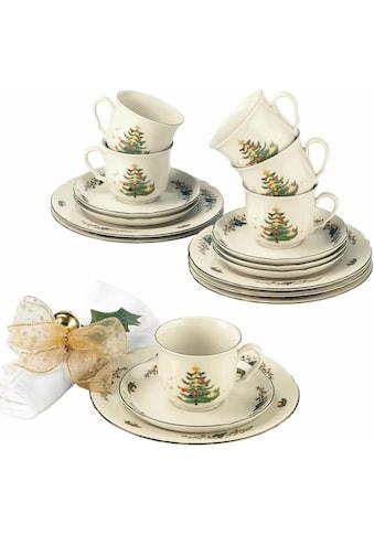 Seltmann Weiden Kaffeeservice »Marieluise Weihnachten«, (Set, 18 tlg.),... kaufen