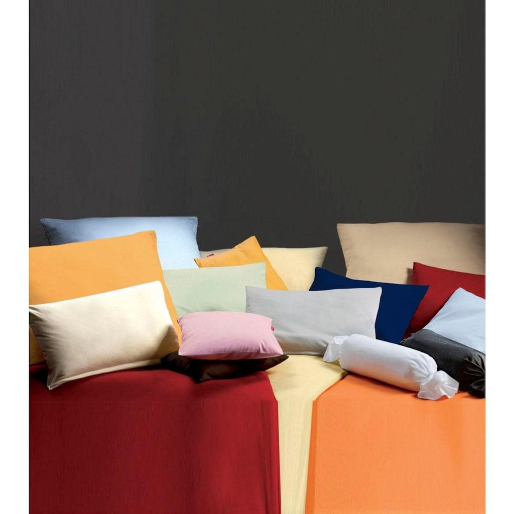 fleuresse Nackenrollenbezug »Colours Interlock Jersey«, (2), in bügelfreier Interlock Qualität