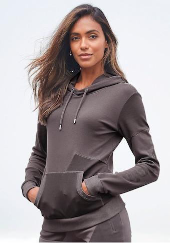 Bench. Kapuzensweatshirt, in Patchwork-Optik kaufen