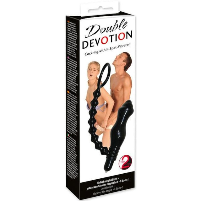 "You2Toys Penisring ""Double Devotion Vibro"""