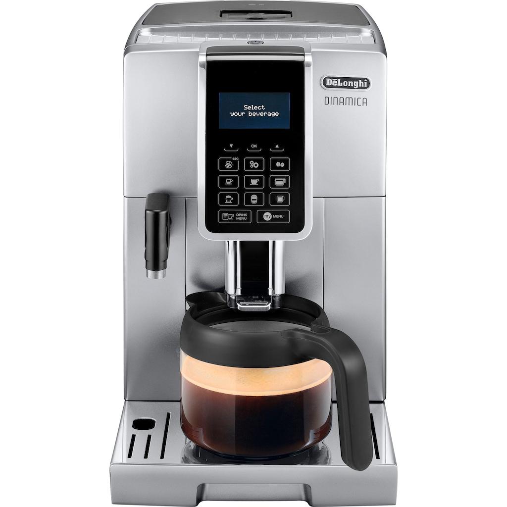 De'Longhi Kaffeevollautomat »Dinamica ECAM 356.77.S«, mit Kaffeekannenfunktion