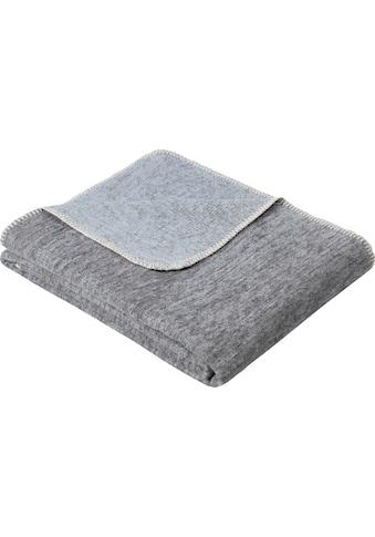 IBENA Wolldecke »Jacquard Decke Rom«, GOTS zertifiziert - nachhaltig aus Bio-Baumwolle kaufen
