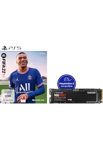 Samsung interne SSD »980 PRO 1TB + FIFA22 PS5«, NVMe M.2 kaufen