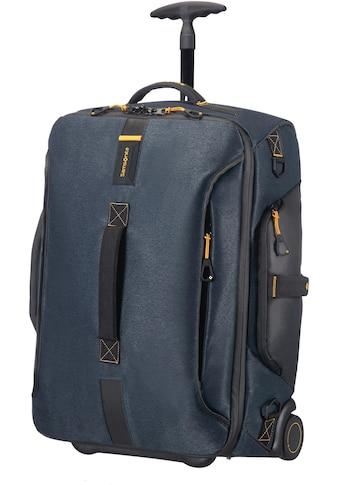 Samsonite Reisetasche »Paradiver Duffle 55, jeans blue mit Trolley -  und Rucksackfunktion« kaufen
