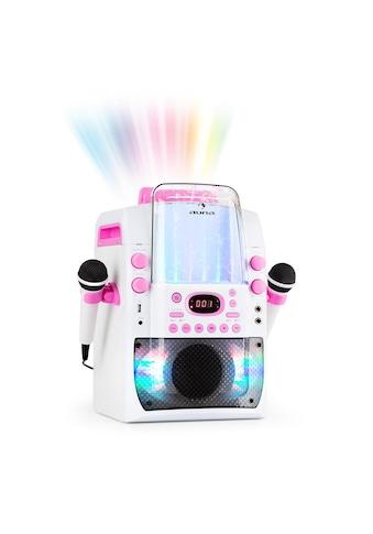 Auna Kara Liquida BT Karaoke - Anlag Mikrofone Lichtshow Wasserfontäne »KaraLiquida BT« kaufen