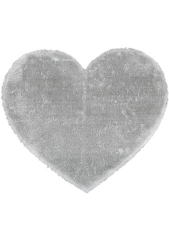 Andiamo Kinderteppich »Lambskin Herz«, herzförmig, 20 mm Höhe, besonders weich durch... kaufen
