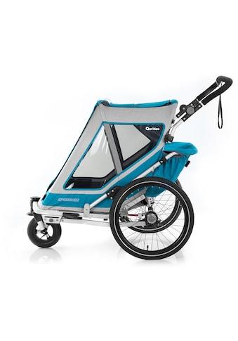 Qeridoo Fahrradkinderanhänger »SPEEDKID 2« kaufen