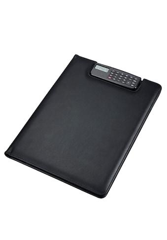 Alassio® Schreibmappe »DIN A4, Brescia«, mit Taschenrechner kaufen