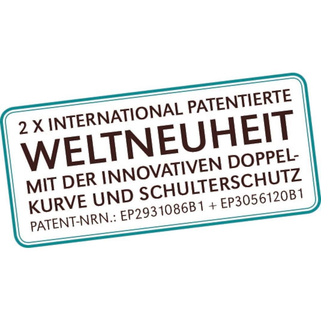 Centa-Star Nackenstützkissen »NeckProtect® Corrective«, (1 St.), antomisch geformt, Härtestufe fest
