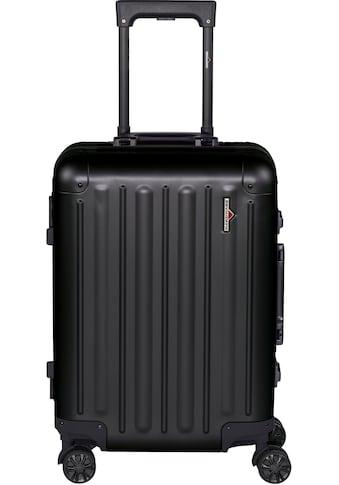 "Hardware Hartschalen - Trolley ""PROFILE PLUS ALU S, black"", 4 Rollen kaufen"