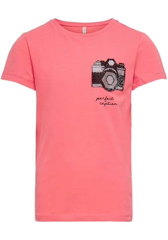 KIDS ONLY T-Shirt »KONKITA«, Mit Glitzersteinchenmotiv kaufen