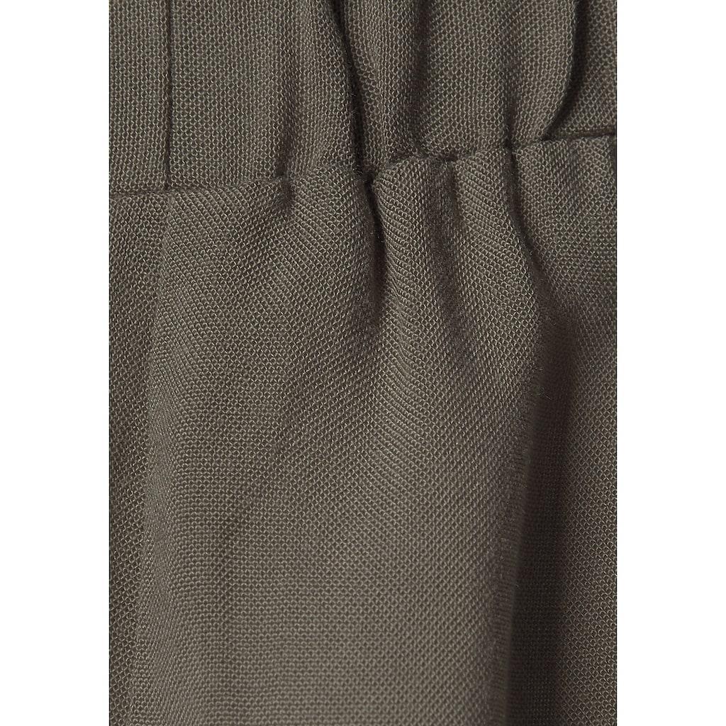LASCANA Kurzoverall, aus gewebter Viskose