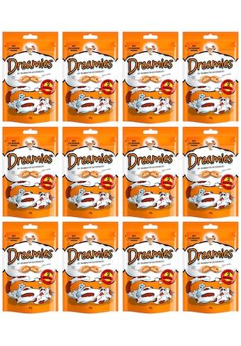 Dreamies Katzensnack »Huhn«, (Set), 12 Beutel á 60 g kaufen