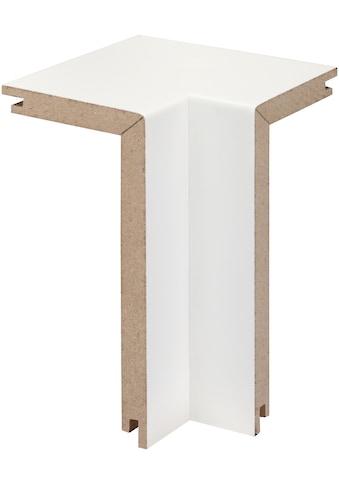 BODENMEISTER Set: Innenecken »Rohrabdeckleiste Weiß«, 2er - Pack, Höhe: 10 cm kaufen