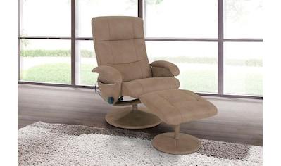 Alpha Techno Massagesessel, mit Fußhocker kaufen