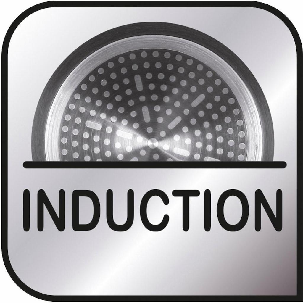 Tefal Topf-Set »Premium Inox Induction Wave«, Edelstahl, (Set, 7 tlg.), Induktion