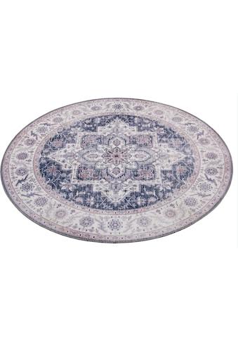 Teppich, »Anthea«, NOURISTAN, rund, Höhe 5 mm, maschinell gewebt kaufen