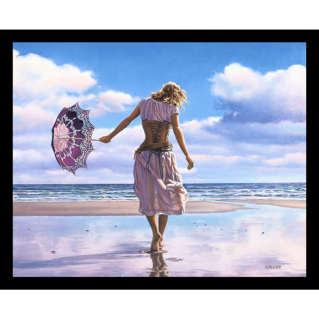 my home Bild mit Rahmen »KELLEY / Geht auf zerbrochene Wolken«, (1 St.)