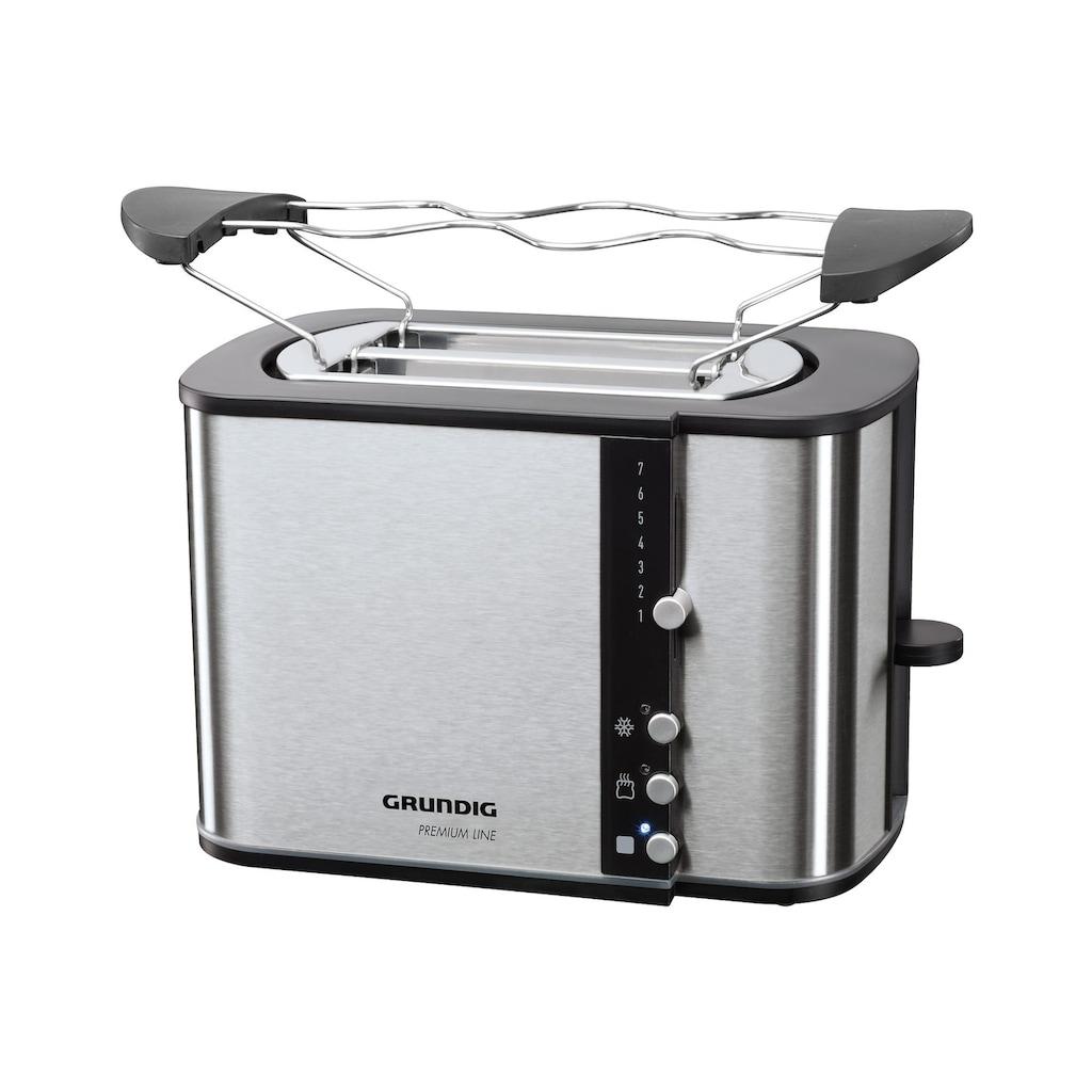 Grundig Toaster »TA 5260«, 2 kurze Schlitze, für 2 Scheiben, 870 W